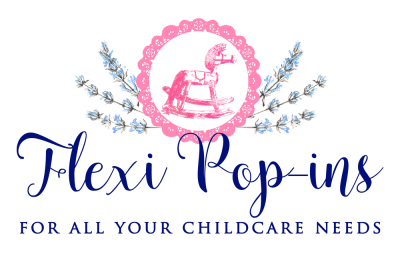 Flexi Pop-ins Logo - Flexible Childcare in London