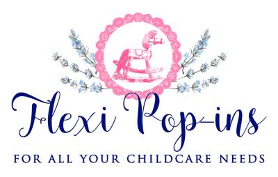Flexi Pop-ins Logo - Flexible Childcare in London